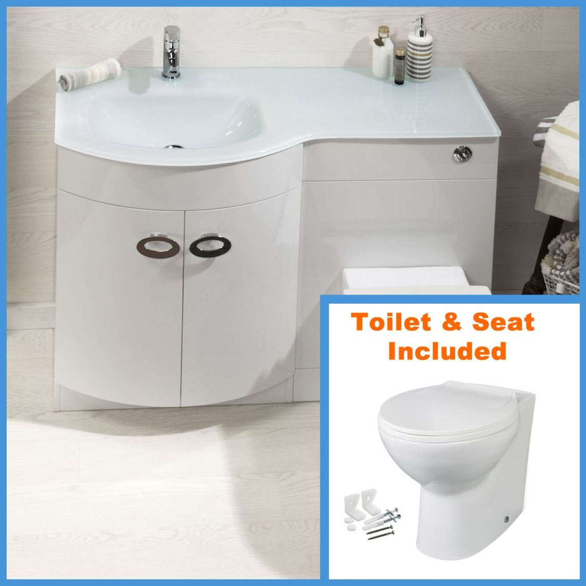 Image Result For Combination Basin Toilet Units