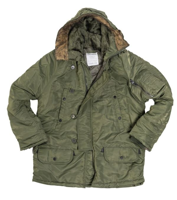 Mil-tec Army N3b Parka Cold Weather Military Style Jacket