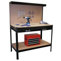 Tool Work Benches with Storage