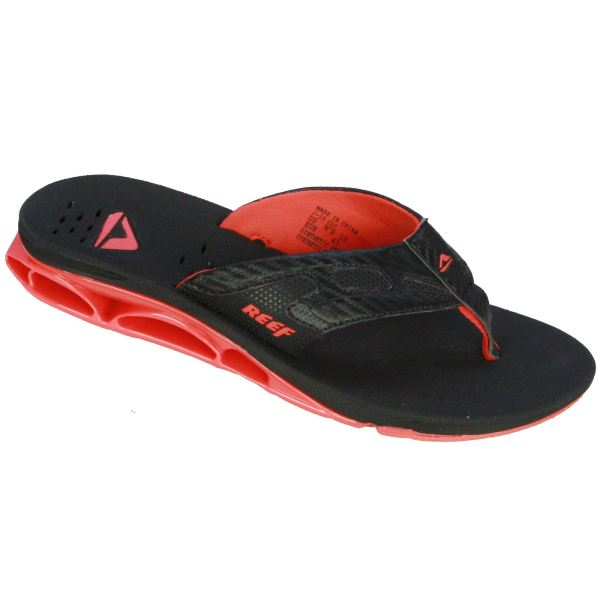Reef Men' Sandal With Bottle Opener Xs1 Red Black