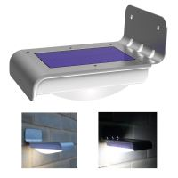 16 Led Waterproof Wall Motion Sensor Solar Powered Garden ...