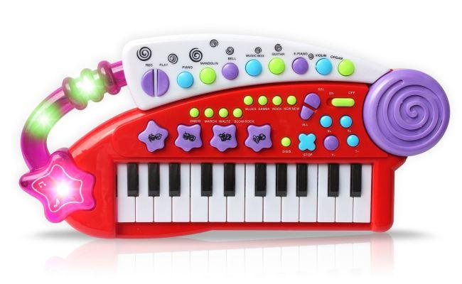 Vinsani Carry Along Keyboard Children Kids Musical