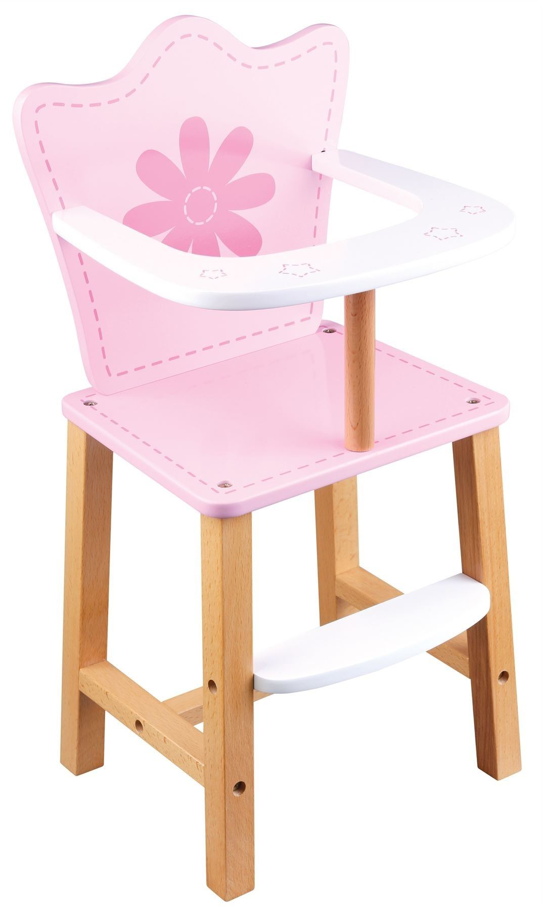 baby toy high chair set cheap cool chairs lelin childrens pretend play doll house feeding