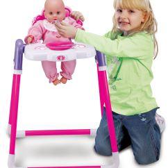 Baby High Chair Toy R Us Pottery Barn Beach Doll Childrens Kids Pretend Play Feeding