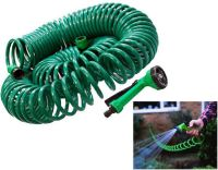 30M Coil Coiled 100ft Retractable Garden Hose Pipe With ...