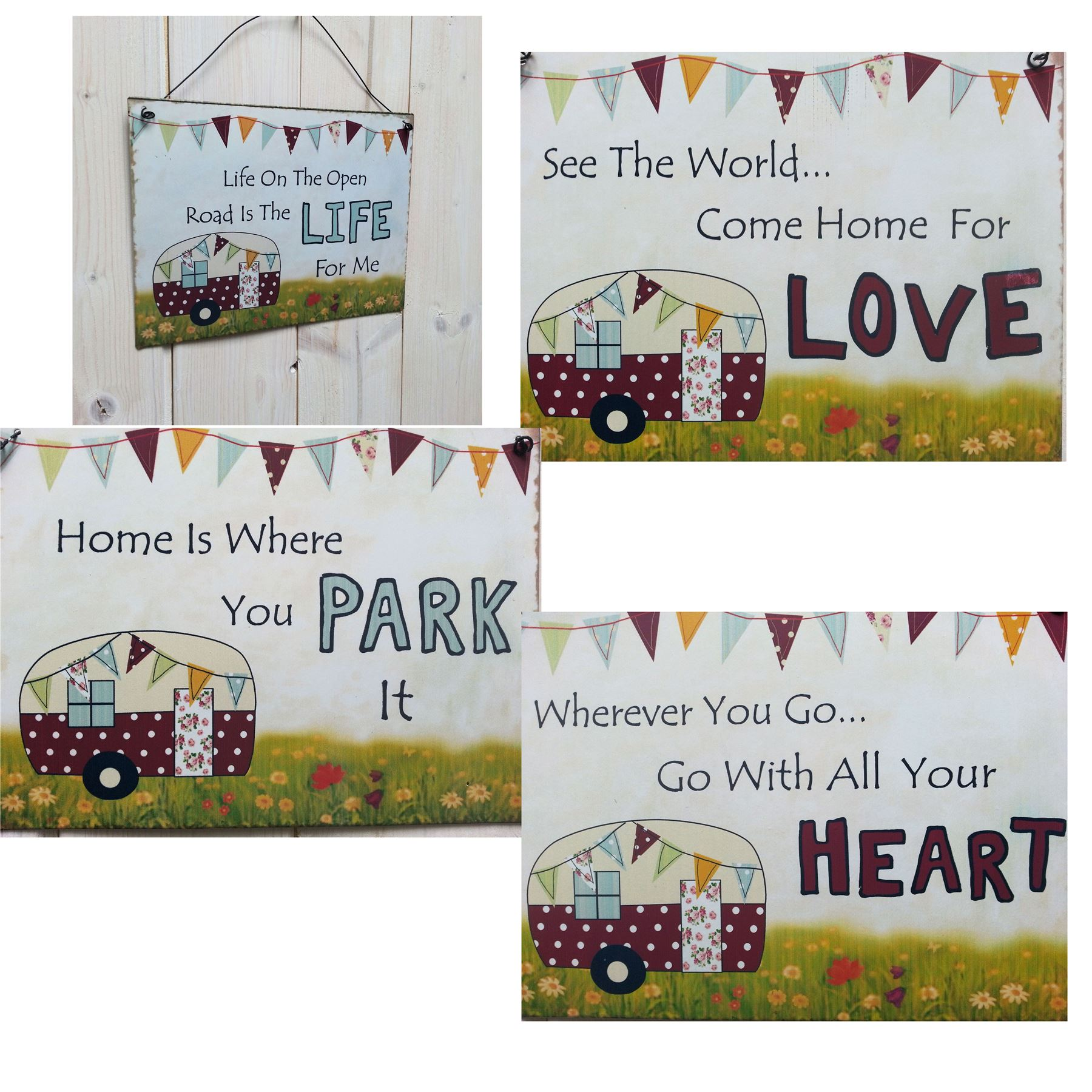 Home Decor Wall Plaques
