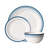 12pc Porcelain Dinner Set (Dining Tableware Dinner/Side ...