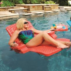 Pool Floating Lounge Chair Swing Mauritius Texas Rec Swimming Float Super Soft