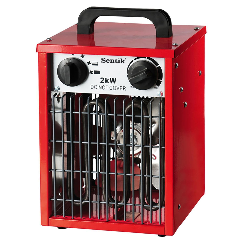 electric fan heaters car radio wiring diagrams 2kw square industrial garage workshop adjustable