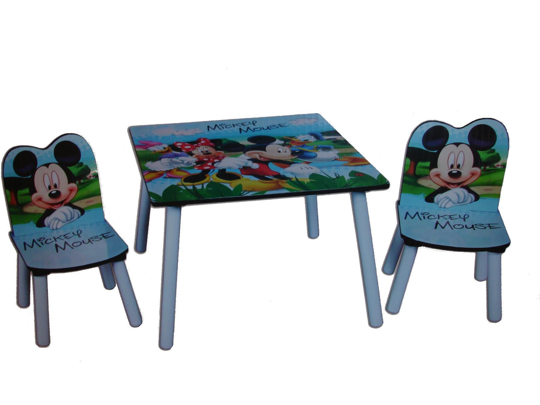 mickey mouse chairs and table folding chair pepperfry disney kids made from wood