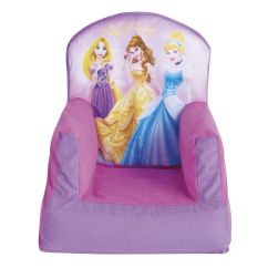 Disney Princess Chair Compact Travel Beach Chairs Cosy Kids Bedroom Furniture New Girls