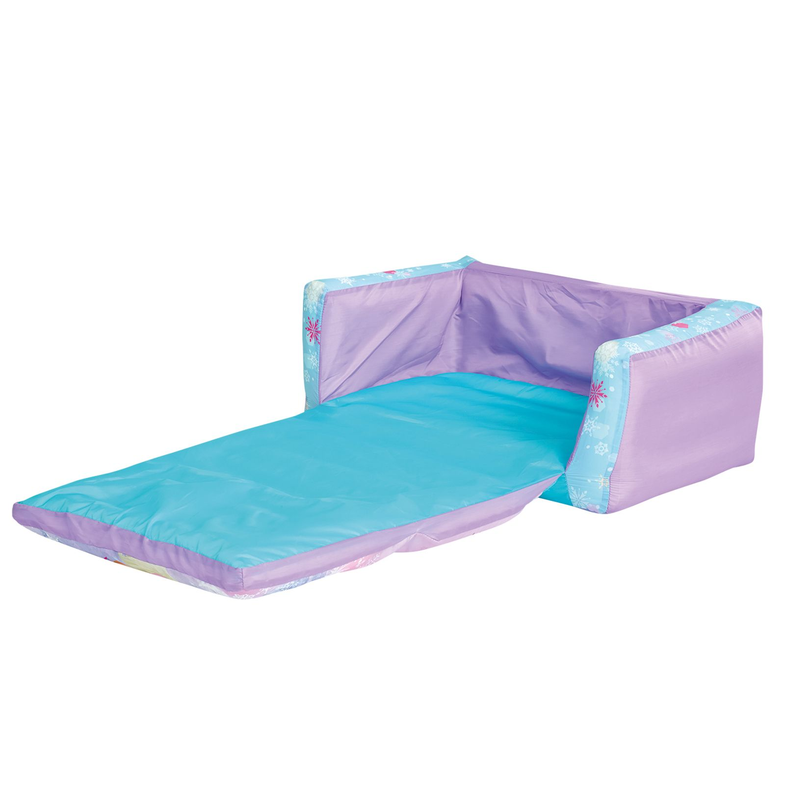 frozen flip sofa canada corner table ideas disney out and bed new inflatable kids
