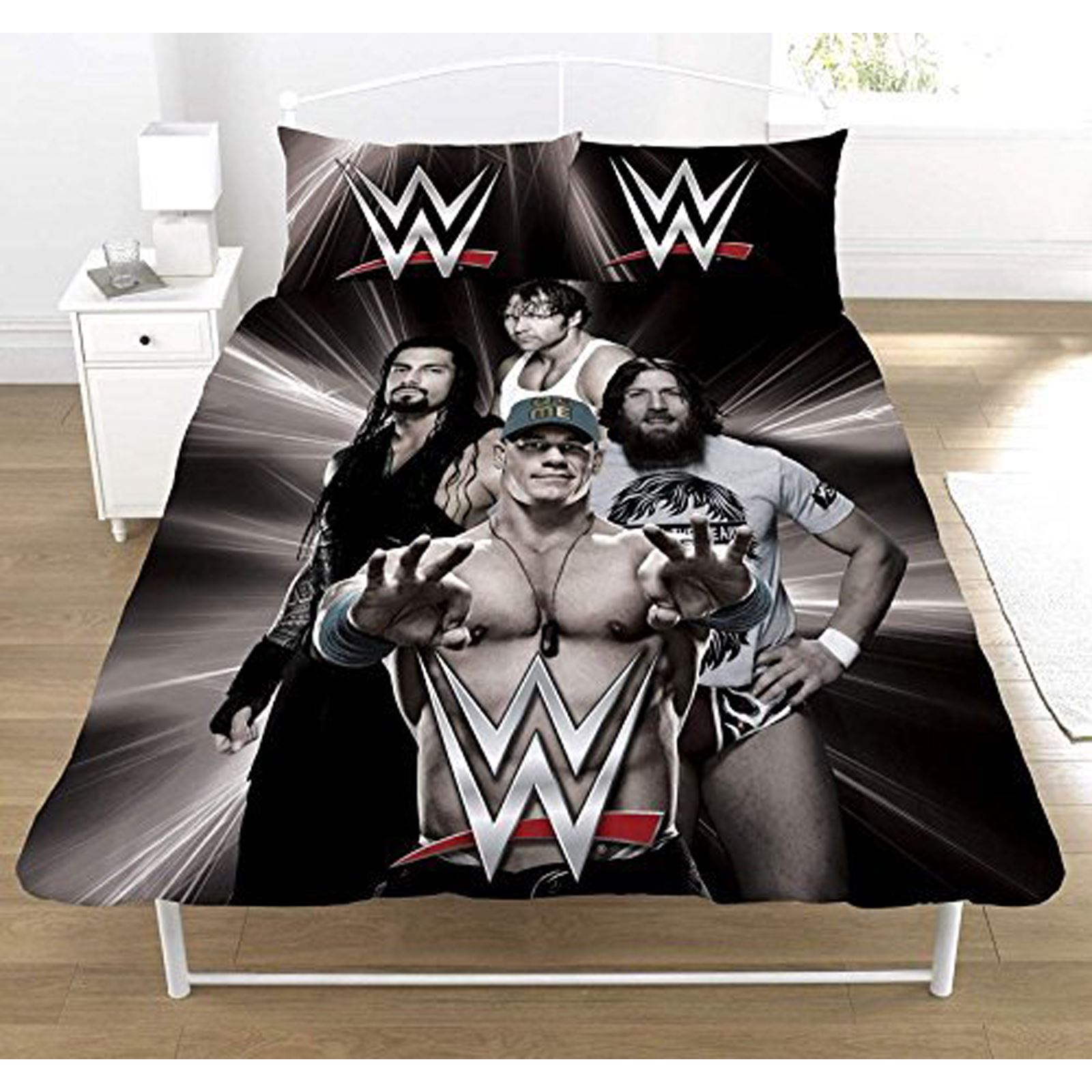 what are wwe chairs made of roman chair abs superstars double doona cover and pillowcase bedding set