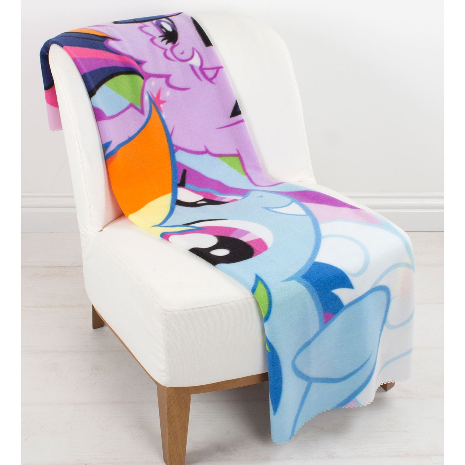 my little pony table and chairs bean bag chair covers large fleece blanket new bedding