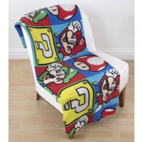OFFICIAL NINTENDO SUPER MARIO BROTHERS BEDDING DUVET COVER ...