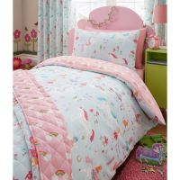 MAGICAL UNICORN SINGLE DUVET COVER SET UNICORN FAIRY ...