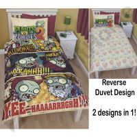 Plants Vs. Zombies Duvet Cover Set 2 in 1 (FREE P+P) | eBay