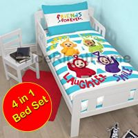 CHARACTER & GENERIC JUNIOR 4 IN 1 TODDLER BEDDING BUNDLE ...