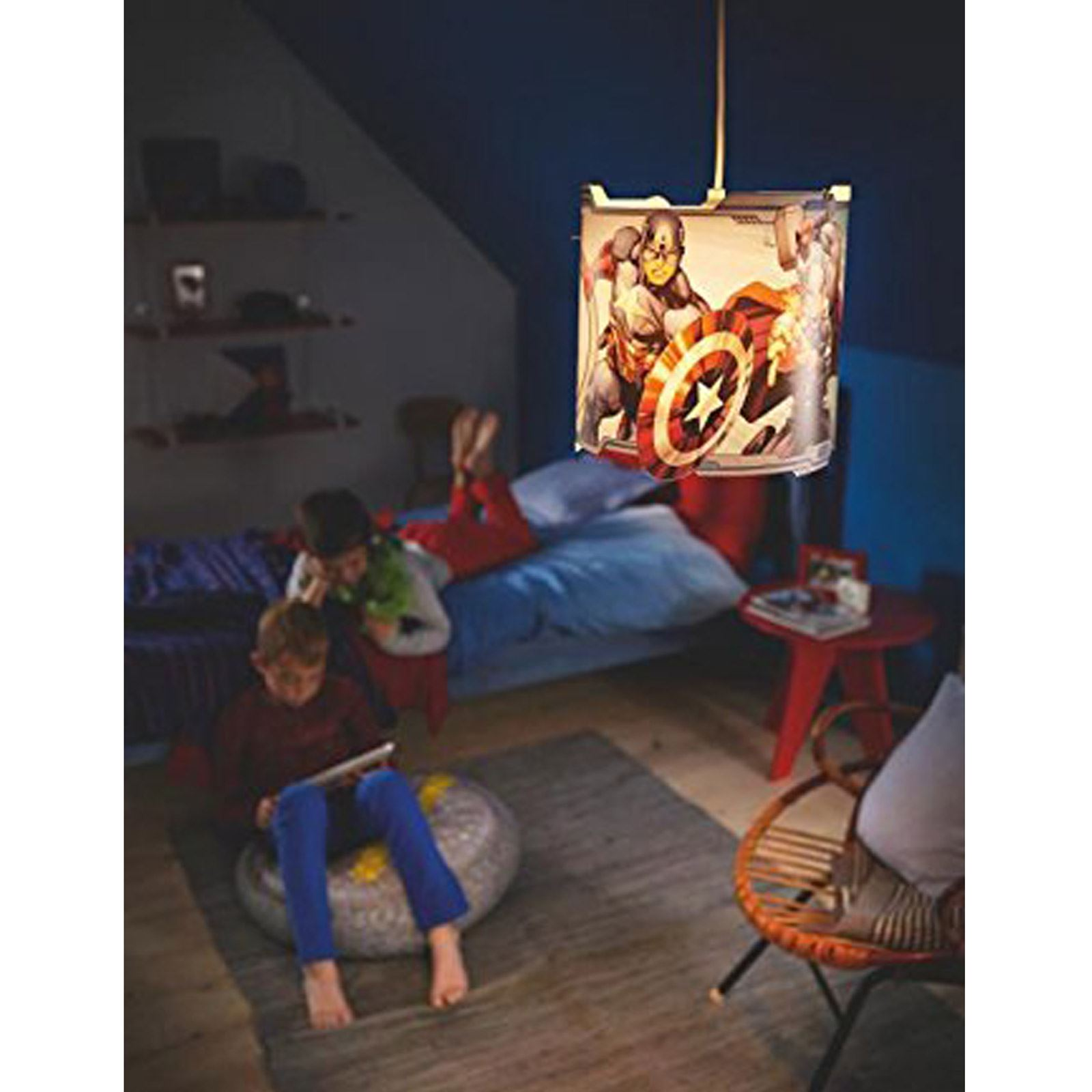 captain america table and chair set covers by hana reviews marvel avengers pendant lamp light shade new hulk