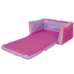 Flip Chair For Adults Commode Rental Disney Out Sofa And Bed Pink Girls Inflatable 100