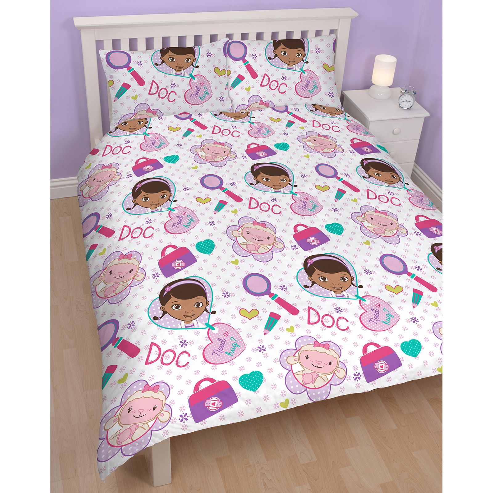 doc mcstuffins chair smyths how to make cushions for kitchen chairs bedding single and double duvet cover sets