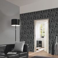 CARAT GLITTER WALLPAPER DARK SILVER 13348-60 BEDROOM ...
