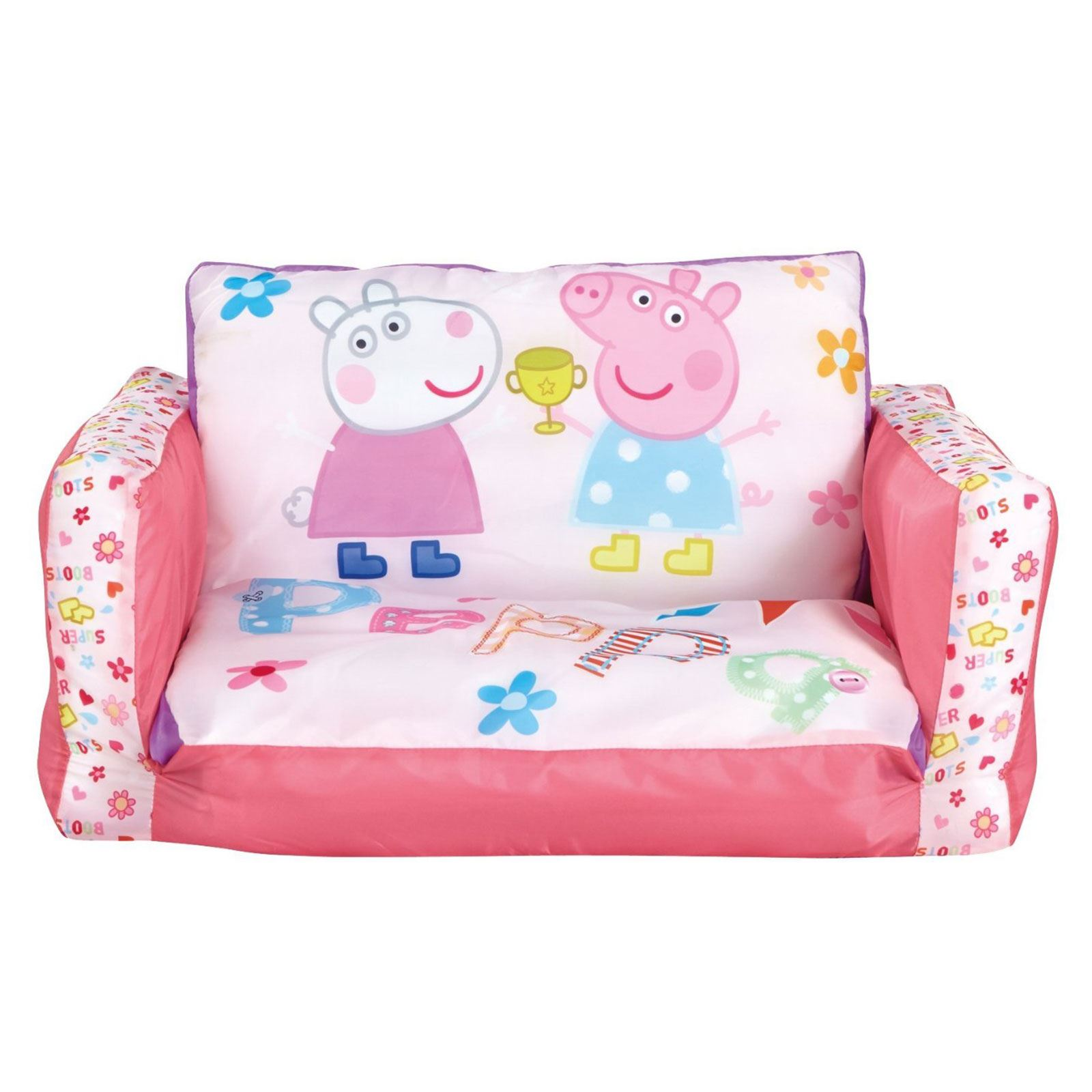 frozen flip sofa canada reclining with massage out range inflatable kids room new minions