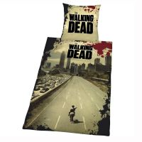THE WALKING DEAD DUVET COVER SET NEW OFFICIAL ZOMBIE ...