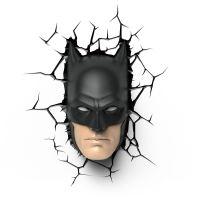 DC COMICS BATMAN & SUPERMAN 3D WALL LIGHTS NIGHTLIGHT ...