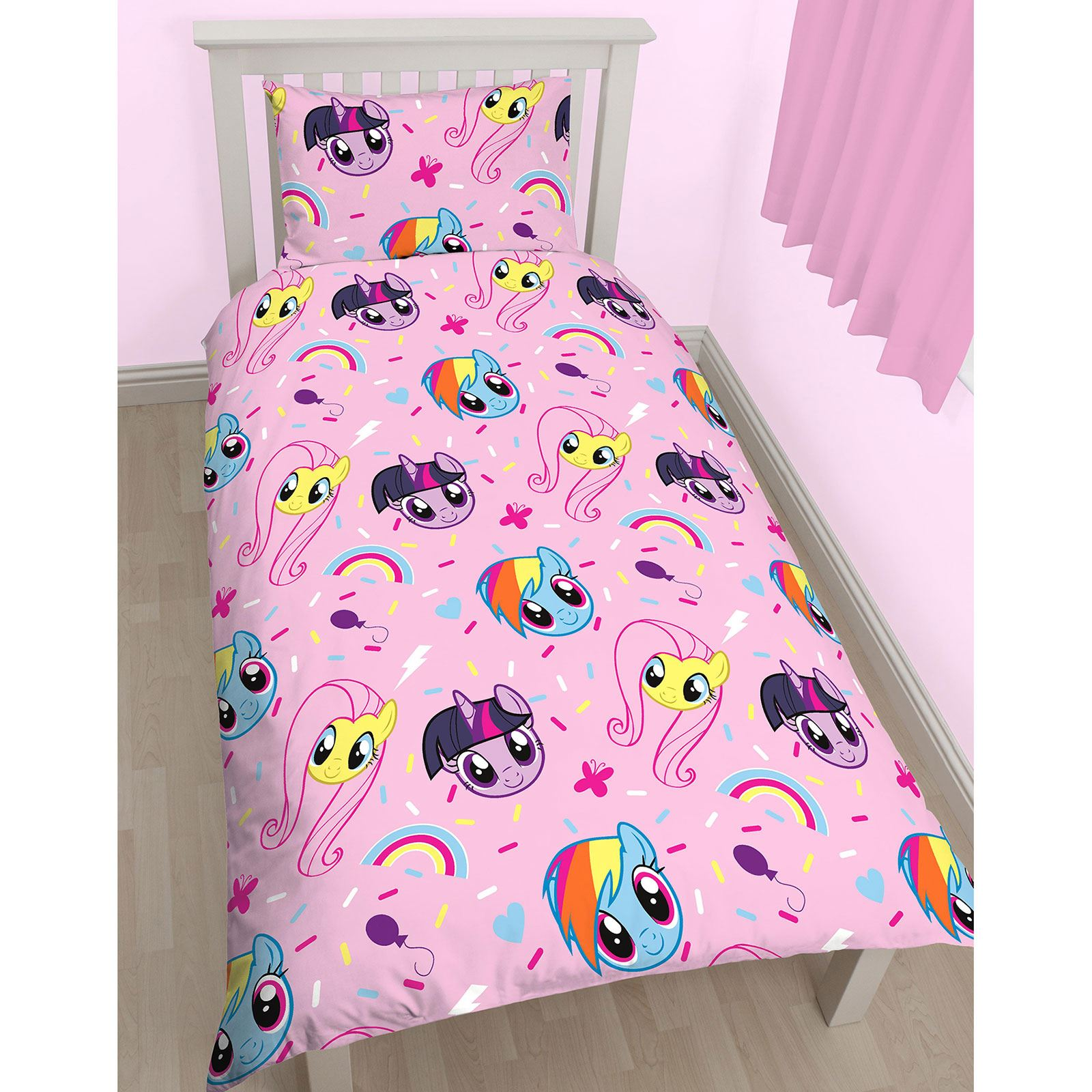 my little pony table and chairs swinging chair neopets equestria single duvet cover set kids