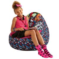 MONSTER HIGH INFLATABLE TWEEN CHILL CHAIR NEW OFFICIAL | eBay
