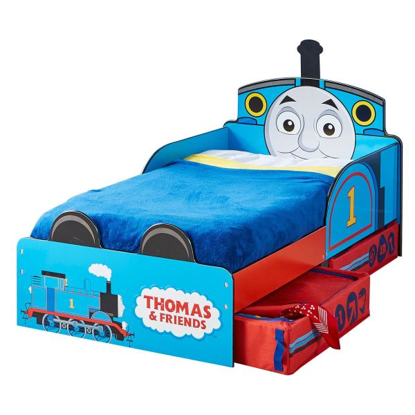 Thomas & Friends Mdf Toddler Bed With Storage Tank