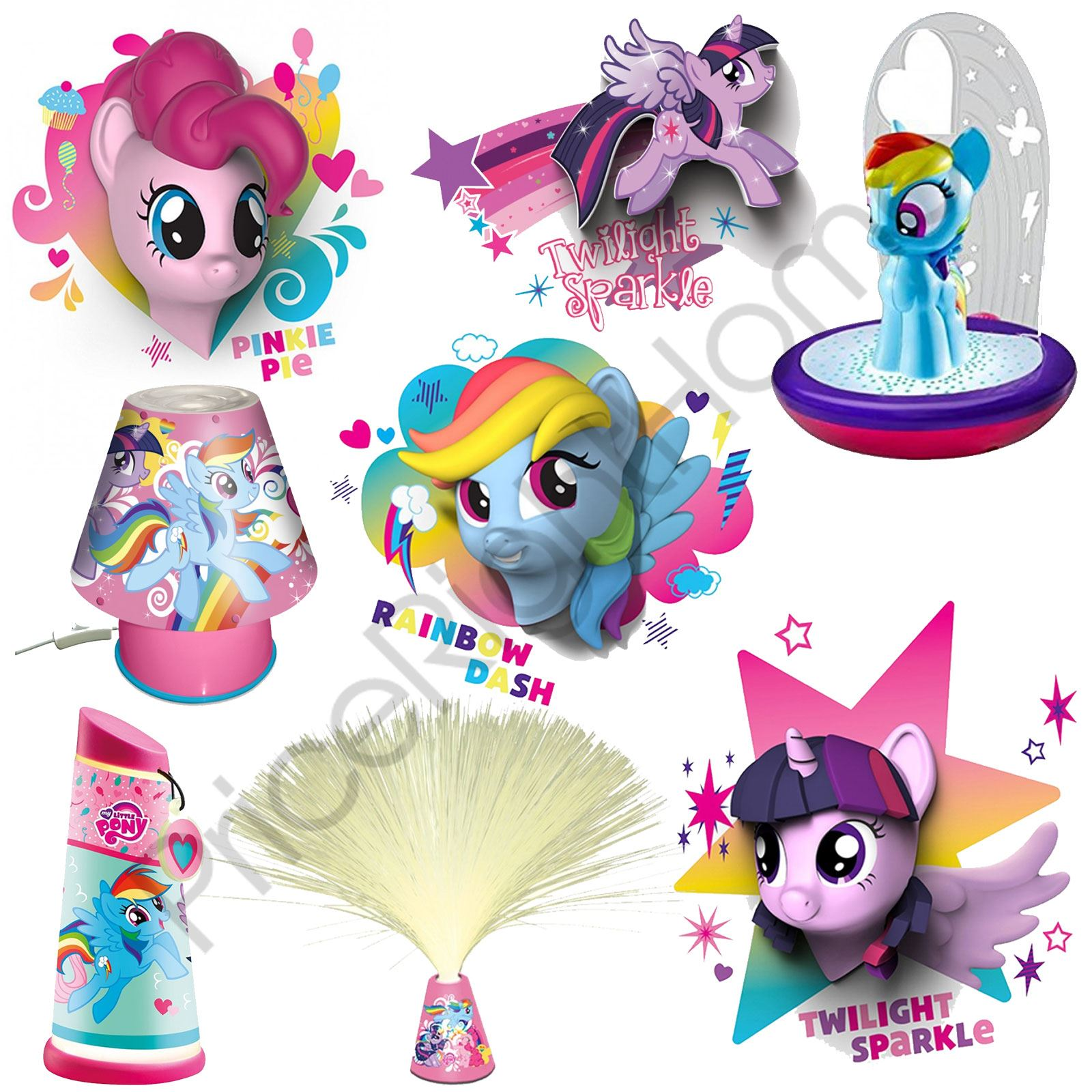 MY LITTLE PONY WALL LIGHTS AND BEDROOM LIGHTING RANGE