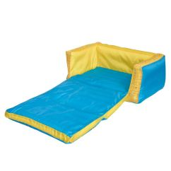 Inflatable Sofa Bed The Range Couch Potato Buddy Flip Out Kids Room New Minions