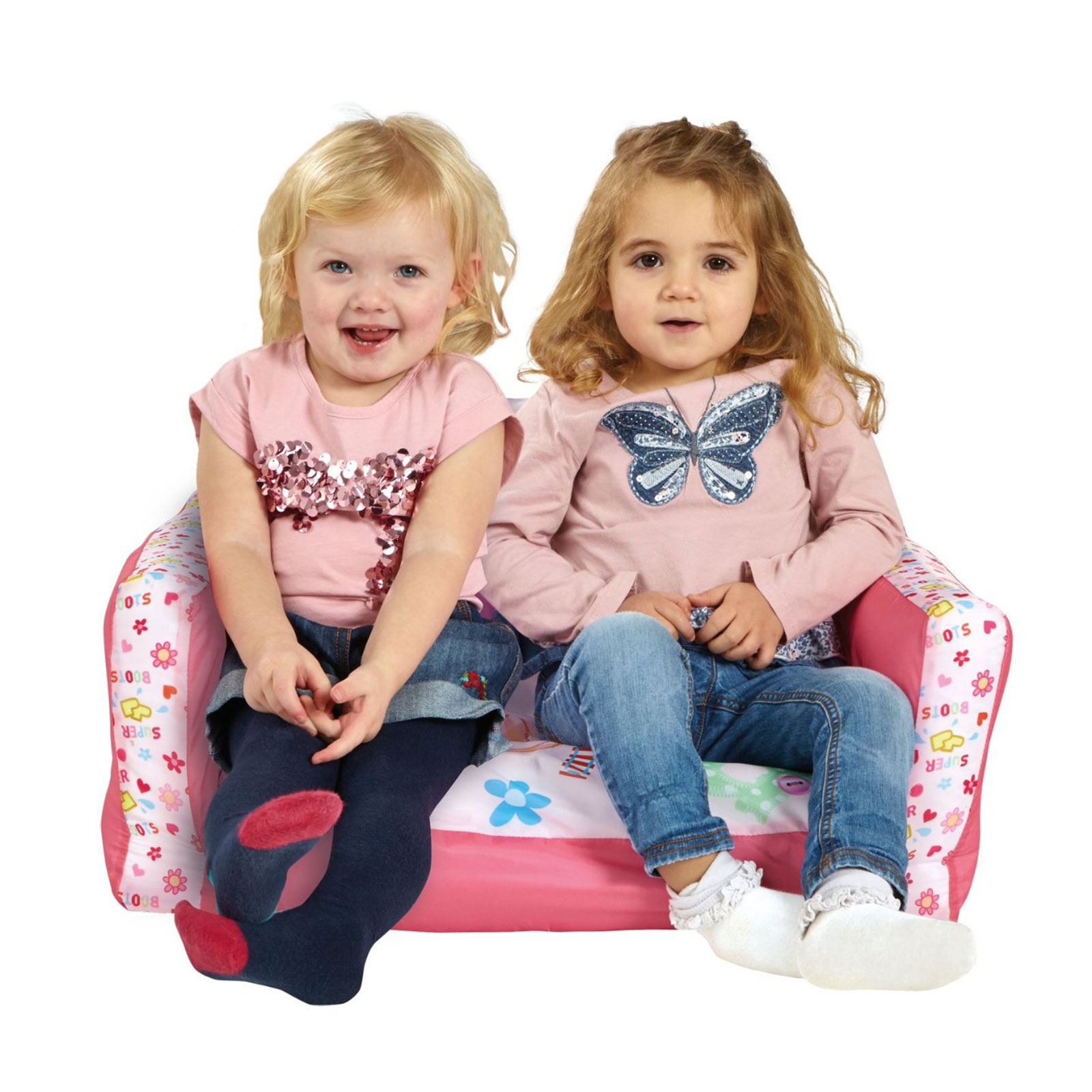 disney cars flip out sofa australia grey rattan outdoor range inflatable kids room new minions