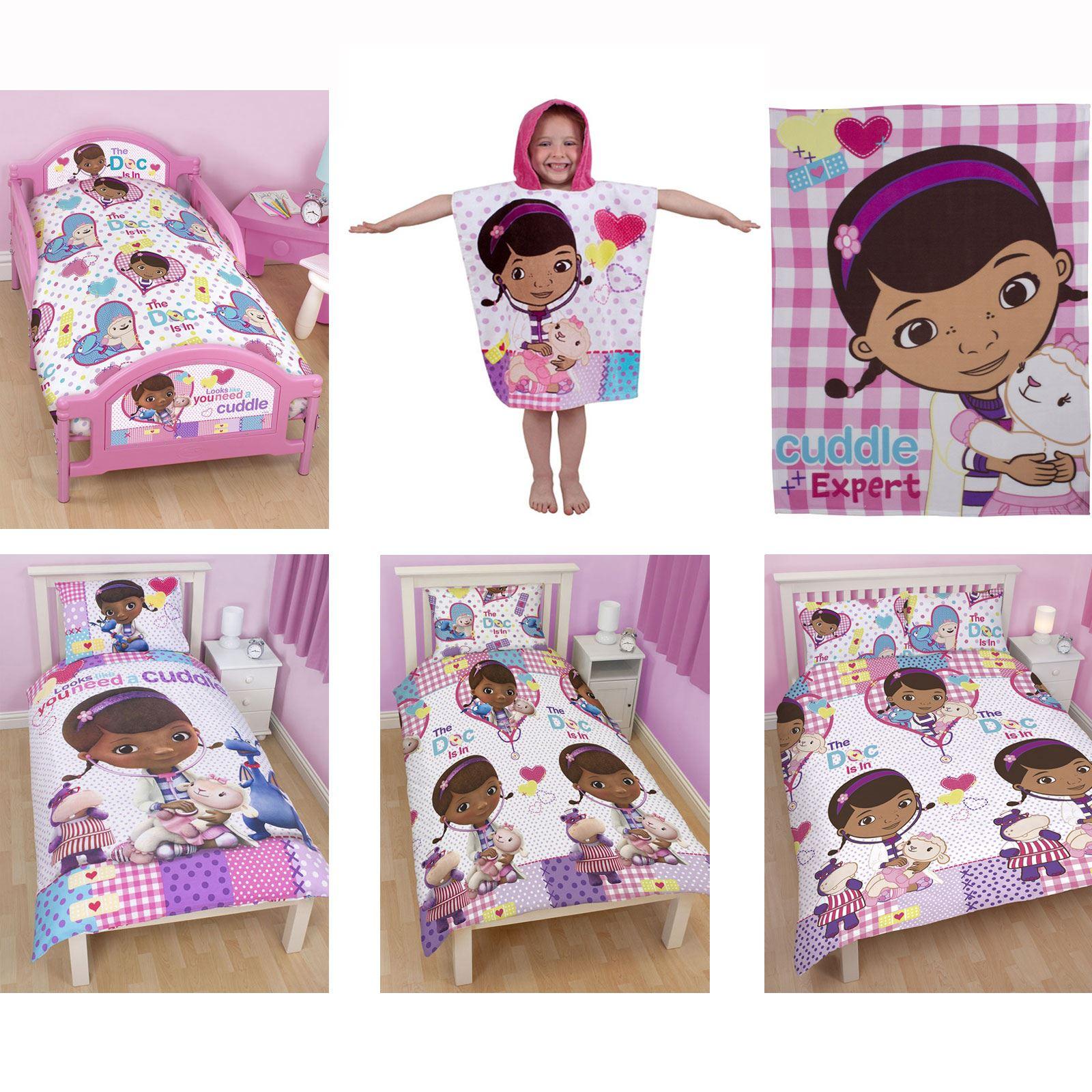 doc mcstuffins upholstered chair uk swivel beach bedroom bedding duvet covers in single and