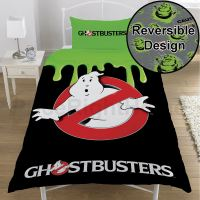 GHOSTBUSTERS SINGLE DUVET COVER SET - OFFICIAL BEDDING ...