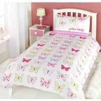 Fly Up High Butterfly Duvet Cover Set Butterflies Girls ...