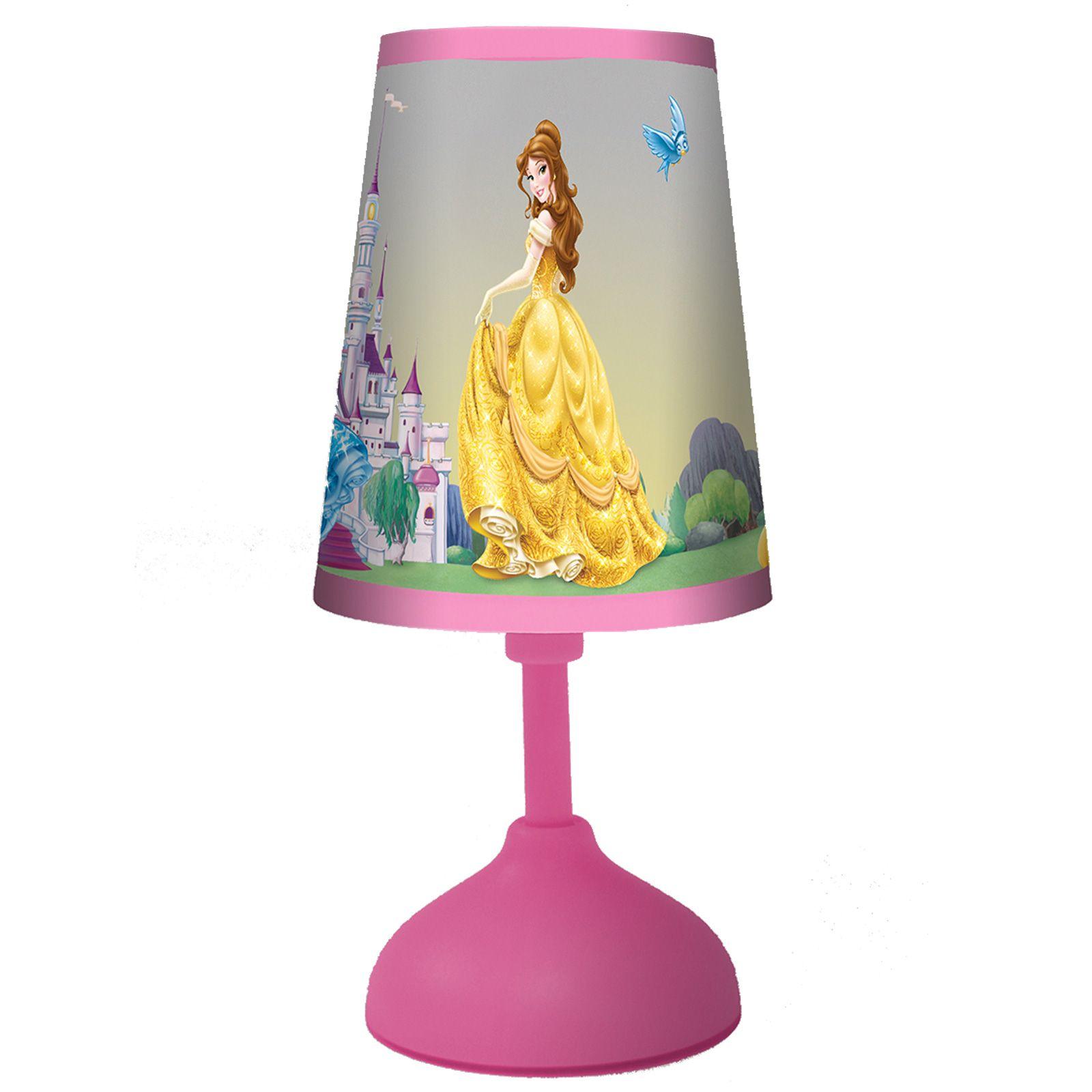 DISNEY PRINCESS MINI TABLE LAMP LIGHT NEW 100% OFFICIAL