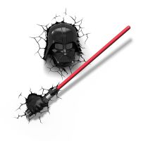 STAR WARS DARTH VADER'S LIGHTSABER 3D LED WALL LIGHT ...