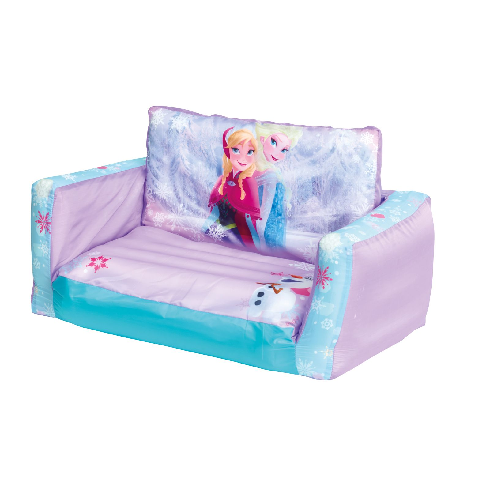 flip sofa dfs camper review disney frozen out and bed new inflatable kids