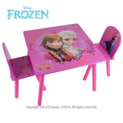 Disney Table And Chair Set Woven Outdoor Princess Frozen Furniture Chairs