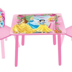 Disney Table And Chair Set Folding Home Depot Princess Frozen Furniture Chairs
