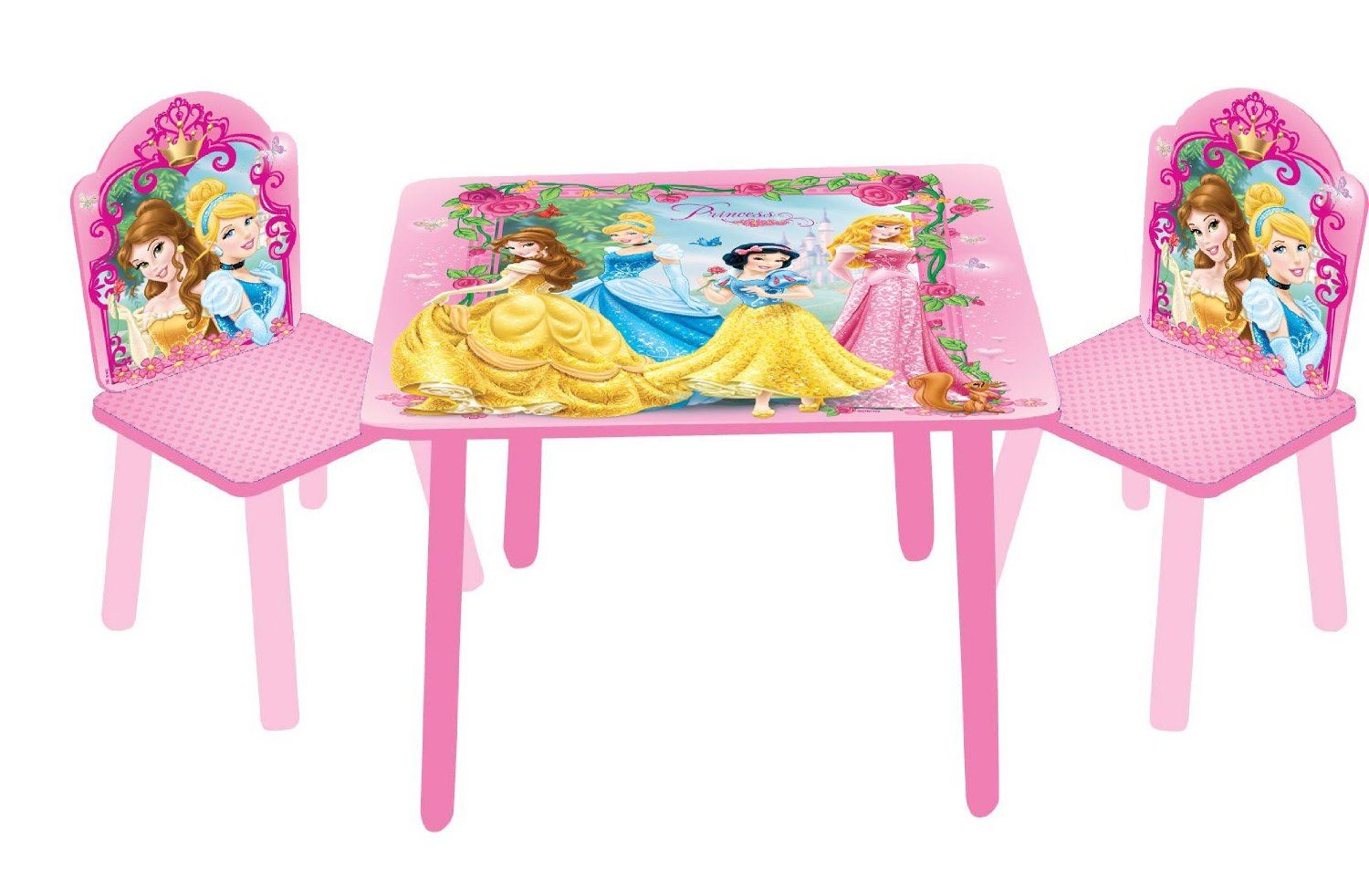 Princess Chairs For Toddlers Disney Princess Frozen Furniture Table And Chairs Set