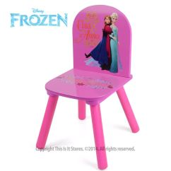 Disney Table And Chair Set Formal Dining Room Covers Princess Frozen Furniture Chairs