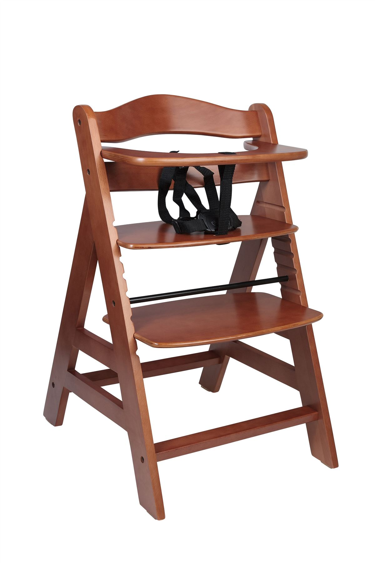 wooden high chair uk portable travel safetots a frame multi height premium
