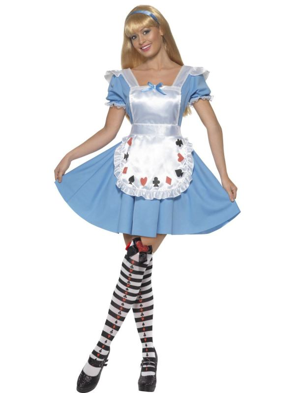 Ladies Deck Of Cards Alice In Wonderland Costume Fancy