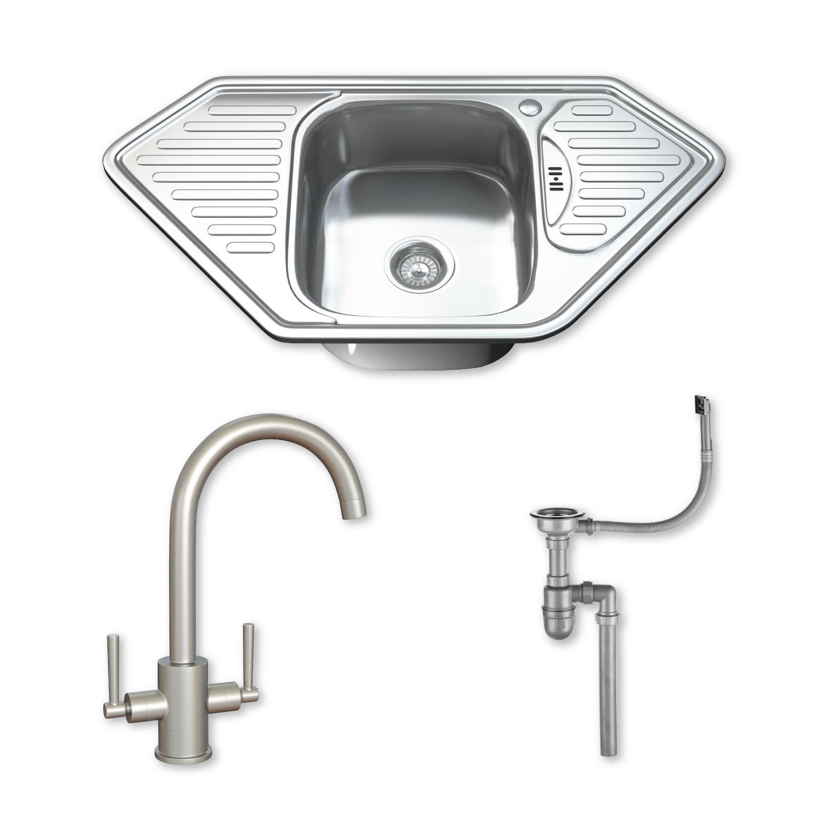 stainless steel single bowl kitchen sink planner software 1 corner tap