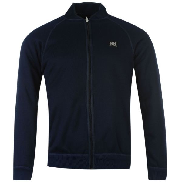Helly Hansen Mens Zurich Rev Jacket Long Sleeve Full Zip Fleece Knitted