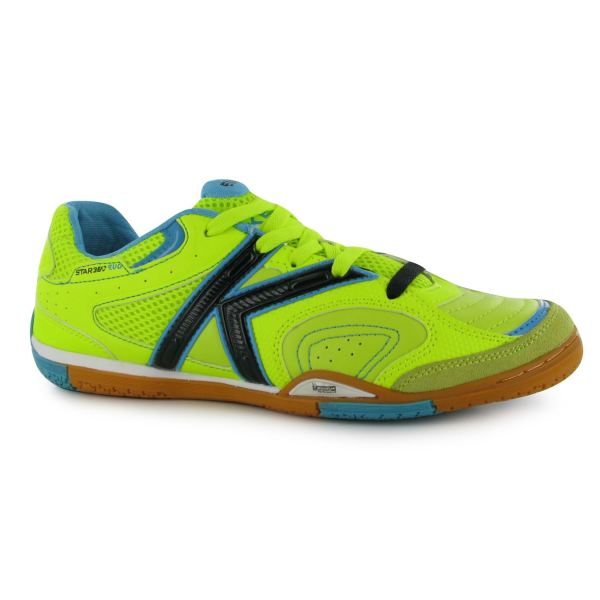 Kelme Mens Star 360evo Indoor Football Boots Trainers Lace Soccer Shoes
